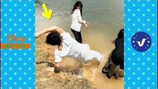 Смешные Видео 2017 ● Люди, Делающие Глупые Вещи P55