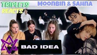 MOONBIN 문빈 & SANHA 산하 (ASTRO 아스트로 ) - 'Bad Idea' MV REAC…