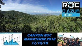 ROC D'AZUR 2018 - Canyon Roc Marathon - 12/10/2018