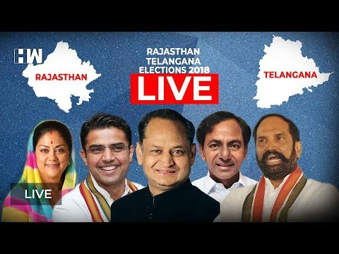 Live : Assembly Elections 2018 Exit Polls | HW News English Live