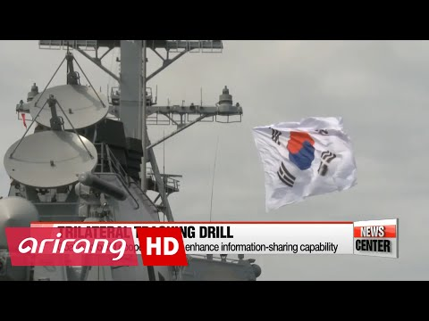 S. Korea, U.S., Japan conduct first trilateral missile-tracking exercise