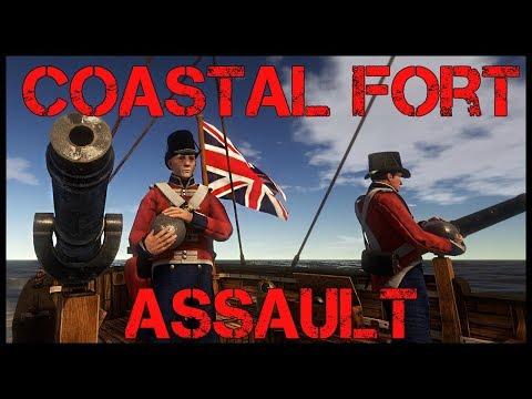 Holdfast: Nations at War - Coastal Fort Assault! - 133rd Highlanders Public Play