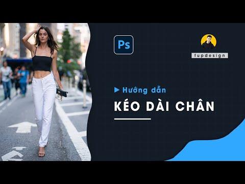 [Photoshop Tip]Bí kíp Kéo dài chân trong Photoshop siêu dễ |  FupDesign Stories