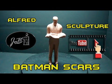 "how-to-sculpt-batman-scars-2-of-3-""alfred"""