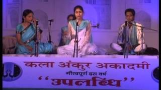 Download Hindi Video Songs - Naina Neer Bahaye - Raag Bhatiyar - Geetanjali - Kala Ankur Academy