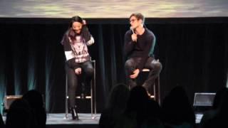 Werewolfcon II ♡ Arden Cho & Daniel Sharman - Kira Killed Isaac, name of the show & Villains