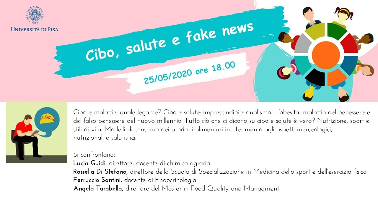 25 05 2020 Cibo Salute E Fake News Youtube