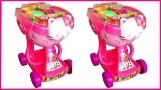 Đồ chơi XE ĐẨY SIÊU THỊ mèo Kitty màu hồng xinh xắn (Chim Xinh)