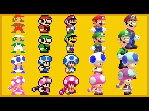 Super Mario Maker 2 - All Characters