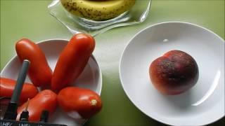 Powerlinestrahlung, PLC, D- LAN in Früchten und Gemüsen mit Esmog-Spion gemessen