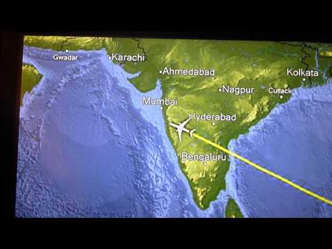 2013.03.05 The Flight Over India From Singapore To Dubai, UAE