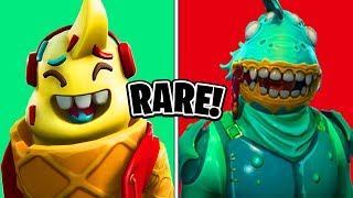 10 peaux Fortnite qui sont maintenant RARE! (New Rare Fortnite Skins)