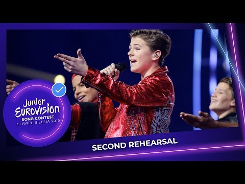 The Netherlands 🇳🇱 - Matheu - Dans Met Jou - Second Rehearsal - Junior Eurovision 2019