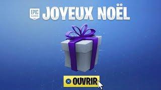 EPIC GAMES FREE NOEL CADEAU on FORTNITE!!