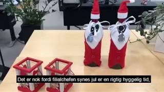 Filialchef vild med jul