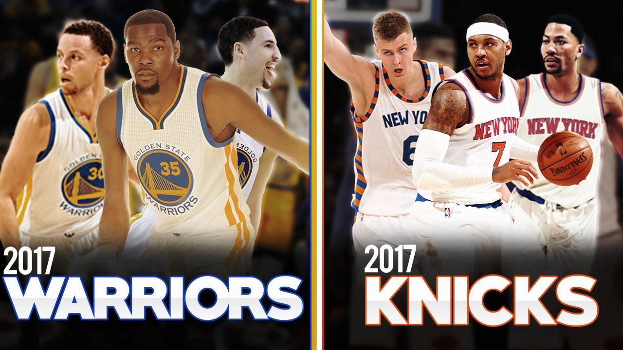 warriors vs knicks