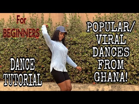 How To Dance | BEGINNERS DANCE TUTORIAL | How To Do SIX (6) POPULAR / VIRAL AFRO MOVES FROM GHANA