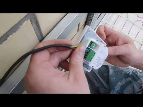 Как установить подключить электрический тёплый пол