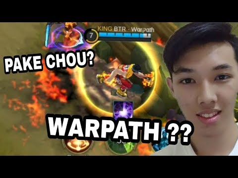 KWKWK SATU TEAM SAMA SI WARPATH ?? GIVE AWAY SKIN - Mobile Legend Indonesia