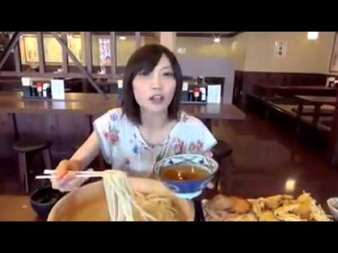 Japanese Girl Eats tons of food!