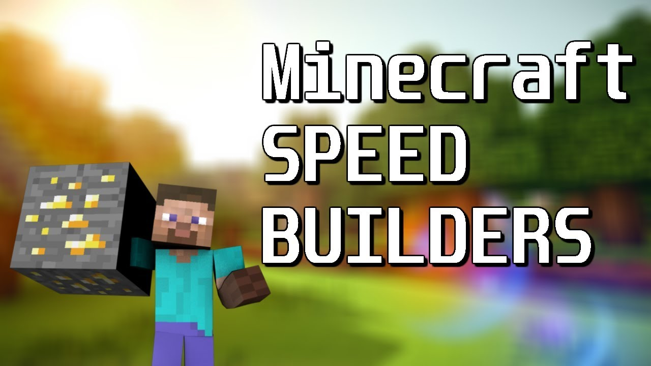 Minecraft SPEED BUILDERS Pt 1