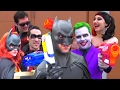 Batman Nerf War! Ft. Joker Harley Quinn | Real Life Superhero Parody - MELF