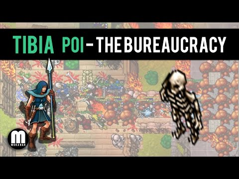 Pits of Inferno - The Bureaucracy - Tibia #58