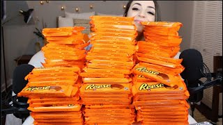 800+ Reese Mountain!! 🧡 ASMR Triggers for Delicious Relaxation | Reese Ritual