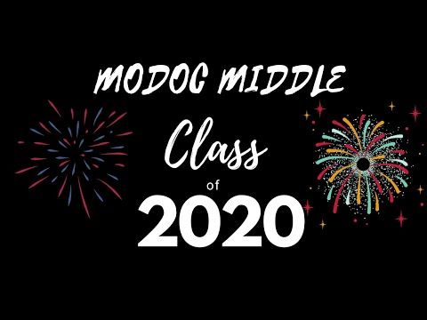 Mister Brown's Message for Modoc Middle School Class of 2020