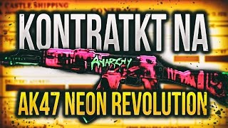 AK-47 NEON REVOLUTION FN!? | KONTRAKTY W CS:GO!