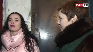 Жильцы одного из домов в Чите тонут в фекалиях