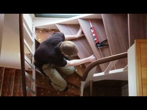 betontreppe verkleiden treppenverkleidung mit holz funnydog tv. Black Bedroom Furniture Sets. Home Design Ideas