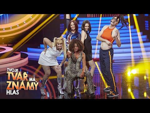 """Spice Girls - """"Wanabe""""   Tvoje tvář má známý hlas"""