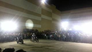 Bike stunt - team ghost rider bangalore