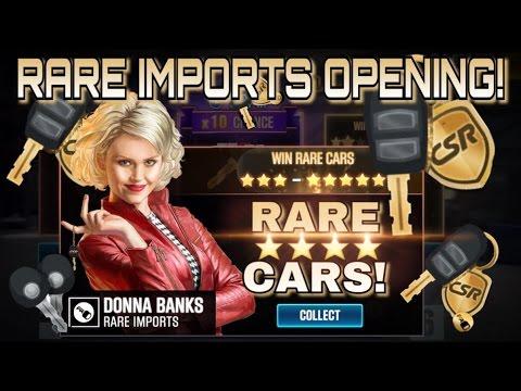 RARE CARS - RARE IMPORTS OPENING | CSR RACING 2