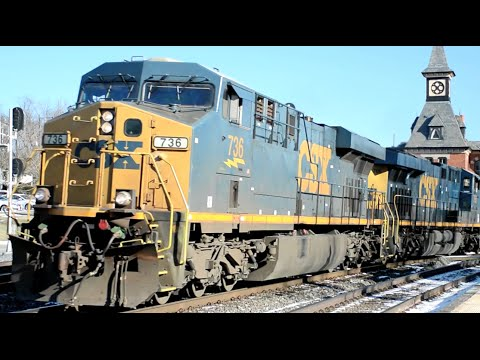 Trains In Maryland & West Virginia CSX Amtrak