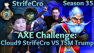 AXE Challenge: Cloud9 StrifeCro vs TSM Trump