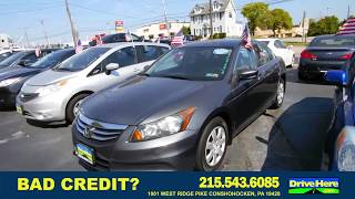 2011 Honda Accord, 100% Application Review Policy
