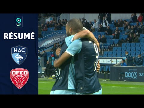 Le Havre Dijon Goals And Highlights