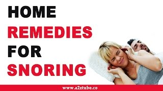 Home Remedies for Snoring – Natural and Ayurvedic