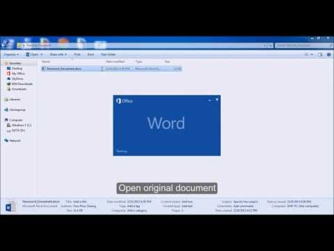 How to Convert DOCX to DOC in Word 2003 Format - Change File Extension from DOCX to DOC from YouTube · Duration:  3 minutes 12 seconds