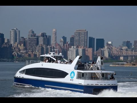 NYC Ferry: Experiencing New York City's new ferry service
