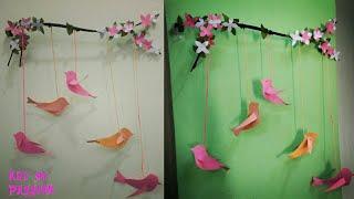 DIY paper wall hanging| Diy wall decor | diy room decor | art my passion