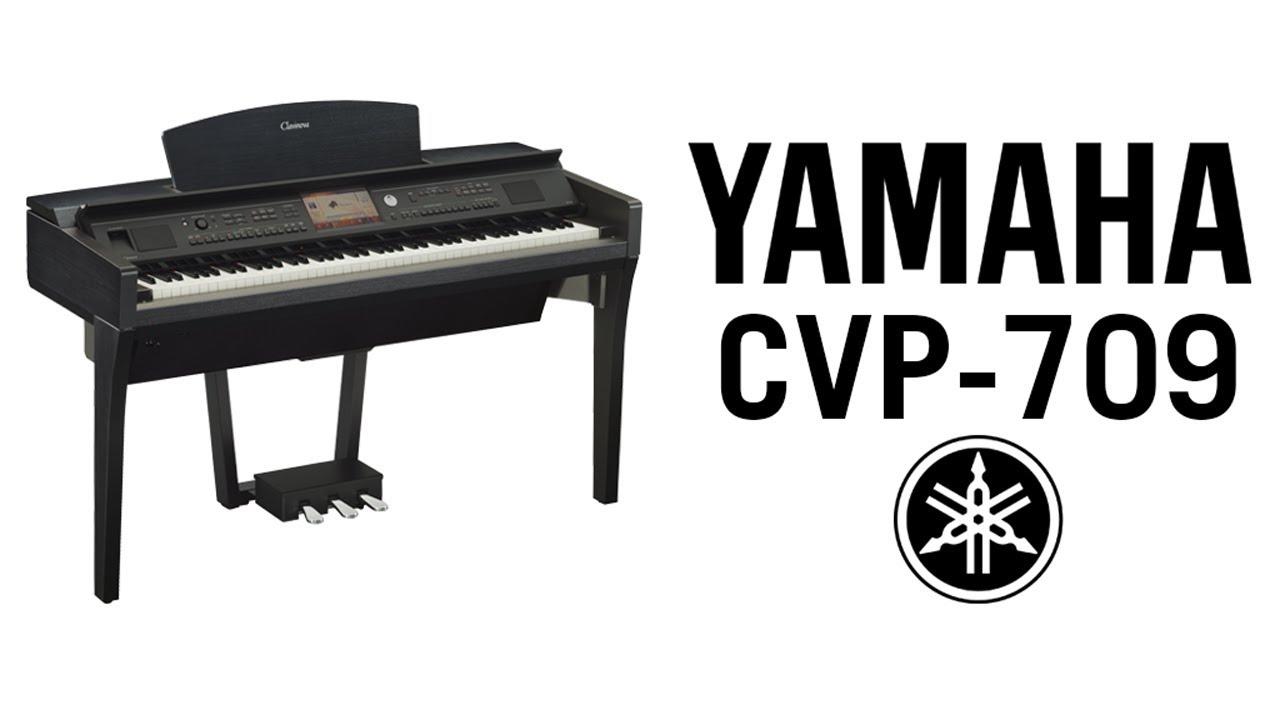 yamaha clavinova cvp 709 demo youtube. Black Bedroom Furniture Sets. Home Design Ideas