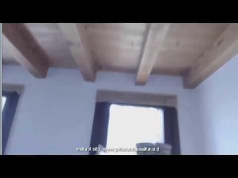 Pitturare Stanze Con Travi In Legno Youtube