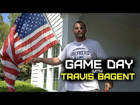 The Game Day With Travis Bagent [Shepherd Rams Vs Ohio Dominican]