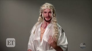 Watch Kit Harington Hilariously Reenact His 'Game of Thrones' Audition on 'Jimmy Kimmel Live'