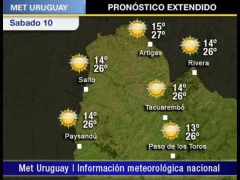 Pronostico uruguay fin de youtube for Pronostico del tiempo accuweather