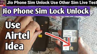 jio phone unlock