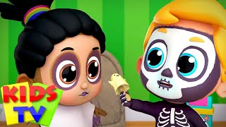 Siapa yang mengambil barang | Lagu anak halloweeen | Kids Tv Indonesia | Kartun untuk anak |